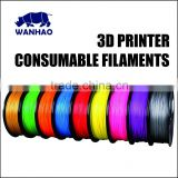 ABS nuclear green plastic flaments for 3d printer abs pla in any color