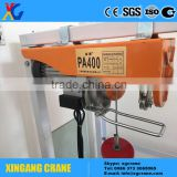 PA mini Type Electric Wire Rope Pulley Hoist 110v