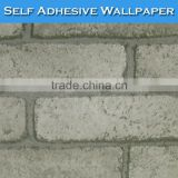 1003 SINO No Pollution White Brick 3D Natural Beautiful Wallpaper
