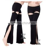 2016 Modern American Belly Dance Tribal Pants for Women Bloomers Belly Dancing Gypsy Harem Pants Black