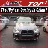Hot selling Body kit for BMW 2008-2014 X6/X6M to HM design body kit x6 HM