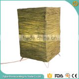 Decorative Table Lamp Green Square Paper Lantern