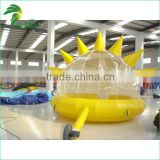 Funny Sun Shape Design High Quality Inflatable Tents for Camping Event