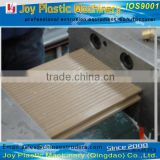 Wood plastic compound WPC outdoor gardening profile machinery