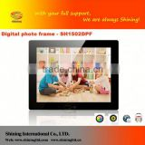 Cheap wholesale price led backlight 15 inch christmas gift digital photo frame SH1502DPF