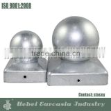 Hot Dipped Galvanized Steel Ball Post Cap