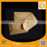 50pcs/lot 175*125mm 150g Kraft Paper Envelope With Heart Knot, Gift Envelope, Wedding Invitation Envelope Free Shipping