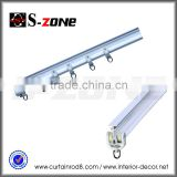 Cheap bay window flexible vertical roller blind side tracks, industrial rails, wall hanging track