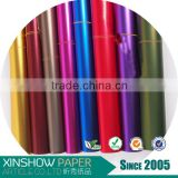 Hot sale 40micorn aluminum foil plastic wrapping paper roll
