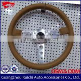 "manufacturer from guangzhou china 14"" polished shallow dish steering wheels"