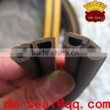 soundproof epdm weatherstrip profiles/rubber seal sticker for window/weatherstrip profiles with ticker