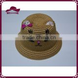 Children fancy animal ear 100% paper straw hat