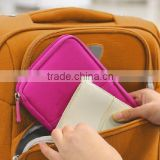 Durable Waterproof Travel Document Wallet Passport Holder Organizer