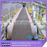 Flame Resistant Conveyor Belt with non-stop, straight-through delivery and truck shipment