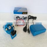 FULL POWER HEAVY DUTY BLUE COLOR DOMESTIC SEWING MACHINE PARTS MINI MOTOR 180W WITH PEDAL