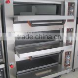 Sinochef Commercial 3 deck gas bakery cake oven with good price                                                                         Quality Choice