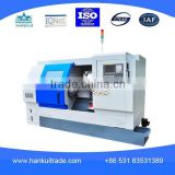 High Precision slant bed Turret Type CNC Lathe (CK63L)