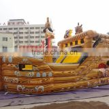 2015 hot commercial inflatable pirate ship,giant inflatable pirate ship slide,pirate ship inflatable slide