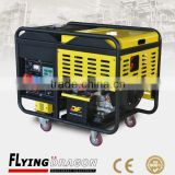 long time running safety and reliable household use electric power plant 10 kw air cooled mobile gensets