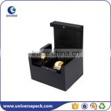 High quality custom piano finish wood watch box