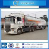New design for customized hot sale aluminum alloy air suspension BPW tri-axle oil semi trailer,fuel semi trailer truck