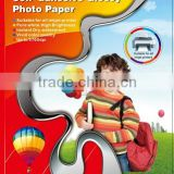 A4 size Glossy self adhesive inkjet photo paper for sticker