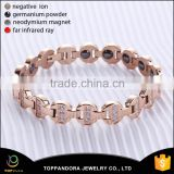 wholesale health care Saudi Arabic stainless steel energy power bracelet gold jewelry