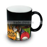 11oz. Ceramic Color Changing Coffee Cup High quality 3d Sublimation Mug