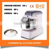 Chain Drive Industrial Cake Baking Shop Bread Mixer Commercial Bread Mixing Machine