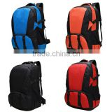 Water proof nylon material Mountaineering backpack with good quality for outdoor traveling