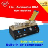 New Products 3 in 1 universal vacuum Automatic Lcd Laminating Machine Smartphone Broken Screen Repair