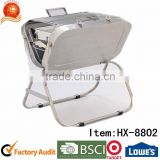 Outdoor Stainless Steel BBQ Grill/Foldable Charcoal Grill/SS#430 Folding Barbeque Grill/Roasting Helper Charcoal Grill