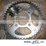 SCL-2013040249 APACHE Stainless Steel Roller Motorcycle Chain And Sprocket Set
