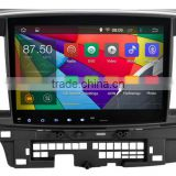 10.2 inch Android 4.4.4 Stereo for Mitsubishi Lancer GPS 1024*600 1.6G CPU Radio headunit free map GPS navi browser navi 335USD