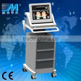 4MHZ MY-C50 Guangzhou MAYA Portable Hifu Equipment For Nasolabial Folds Removal Face Lift Ultrasound Beauty Machine (CE Approved ) Eyes Wrinkle Removal