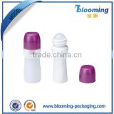 plastic pop hot sale good quality top container of roll-on bottle