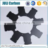 Juli professional manufacturer high strenght light weight custom cnc carbon fiber sheet/plate for drone parts