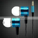 2016 Hot sale Fashionable metal headphone Jack connector mini 3.5mm headphone