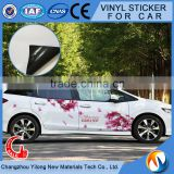 Self-adhesive vinyl film outdoor , body car sticker , vinyl wrap in Guangzhou, 110g~140g