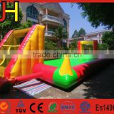 High Quality PVC Inflatable Soap Football Field for Sale, Inflatable Soap Soccer for Sale