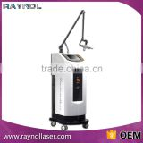 Best Glass Tube Co2 Fractional Laser Machine Mole Removal For Scar Removal Pore Removal Face Lifting