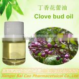 OEM/ODM wholesale pure natural organic clove flower essential oil with eugenol, clove bud oil