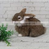 garden decors stuffed toy rabbit wholesale