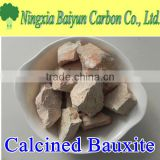 Raw bauxite ore, Al2O3 75% calcined bauxite price