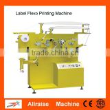High Speed Flexo Label Printing Machine/ Double Side Multi-color Satin Nylon Care Label Printer