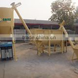1-1.5t/h Horizontal dry mortar mixer production line