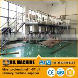 corn germ oil refinery production plant, crude oil refinery machine