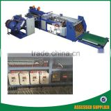 China best selling polypropylene woven bags cutting machine