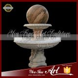 Outdoor Marble Rotating Ball Fountain
