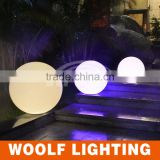 Wonderful Glowing Outdoor Swimming Pool and Garden Used Rechargeable Colouful Waterproof LED Light Up Ball